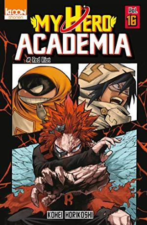 MY HERO ACADEMIA 16 : RED RIOT